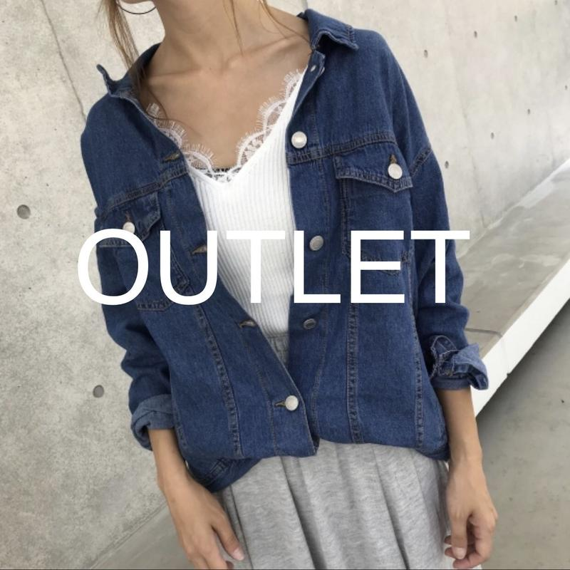 【OUTLET】デニムシャツ感!!6.5オンスGジャン/ライトアウター【クリックポスト対象商品】