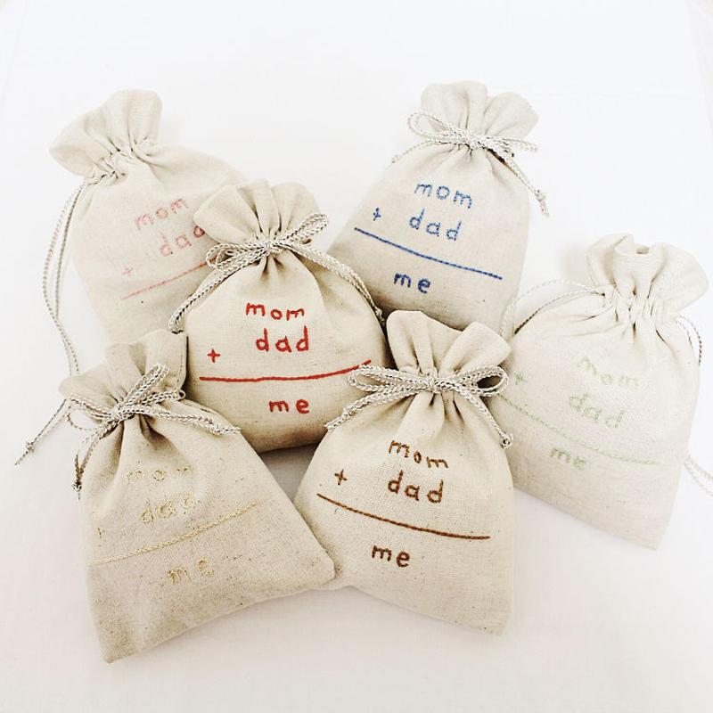 mom+dad=me ☺︎ 巾着
