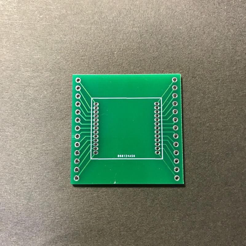 EASEL社LoRaモジュール(ES920LRB、ES920LRA1B)用ピッチ変換基盤
