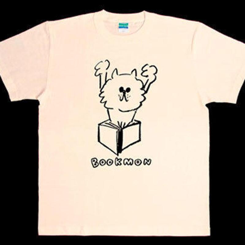 BOOKMON Tシャツ(クリーム)