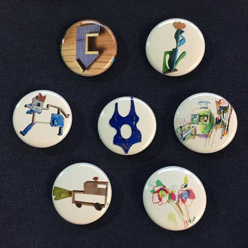 Taishi Omura Artworks Limited Badge Set