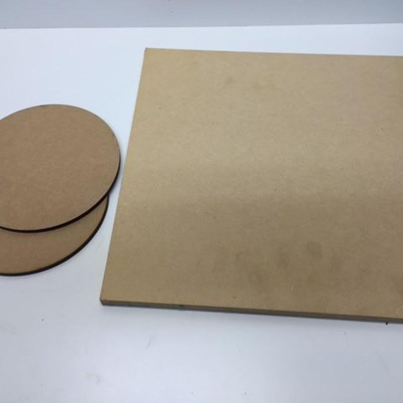 ディスプレイ土台素材 2種 3点セット