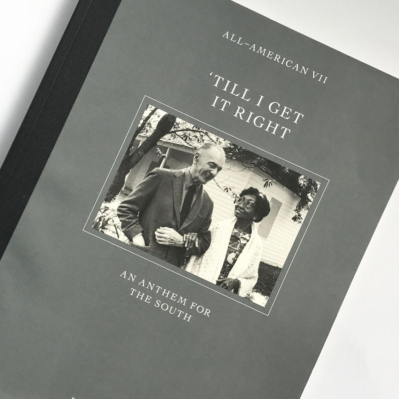 "Title/ ALL-AMERICAN ""Till I Get It Right"" Author/ Bruce Weber"