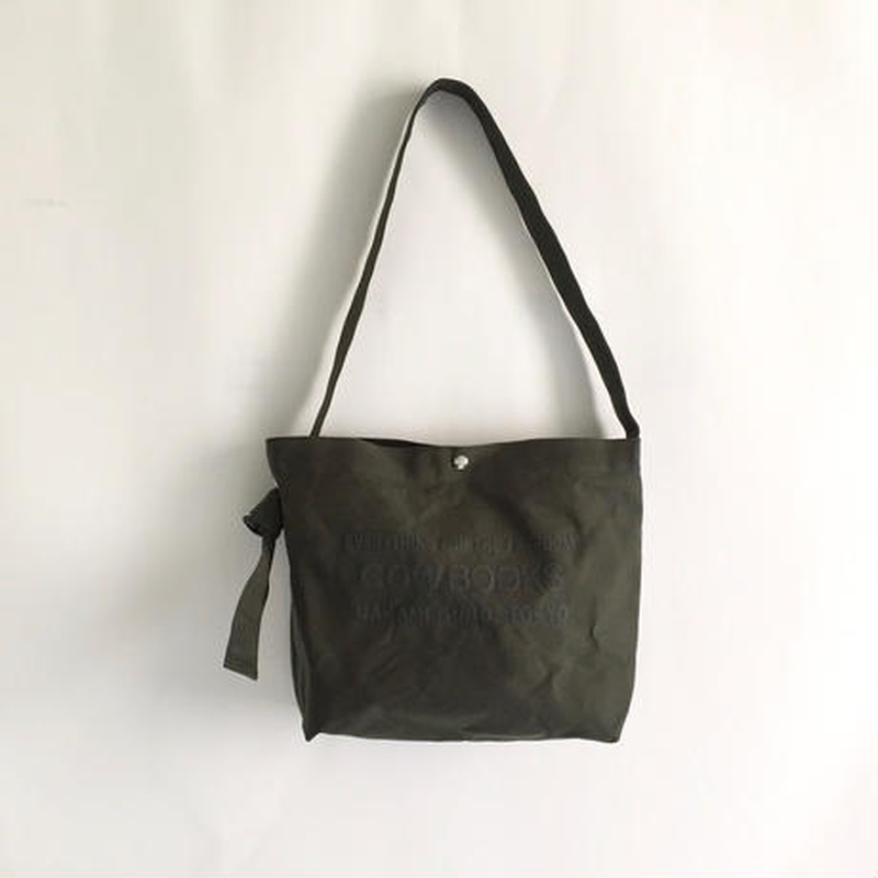 Book Vender Tote ( Shoulder /  Green×Green )