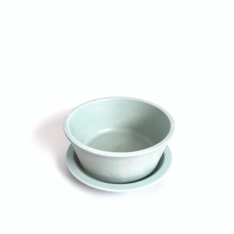 Granola Bowl and Saucer