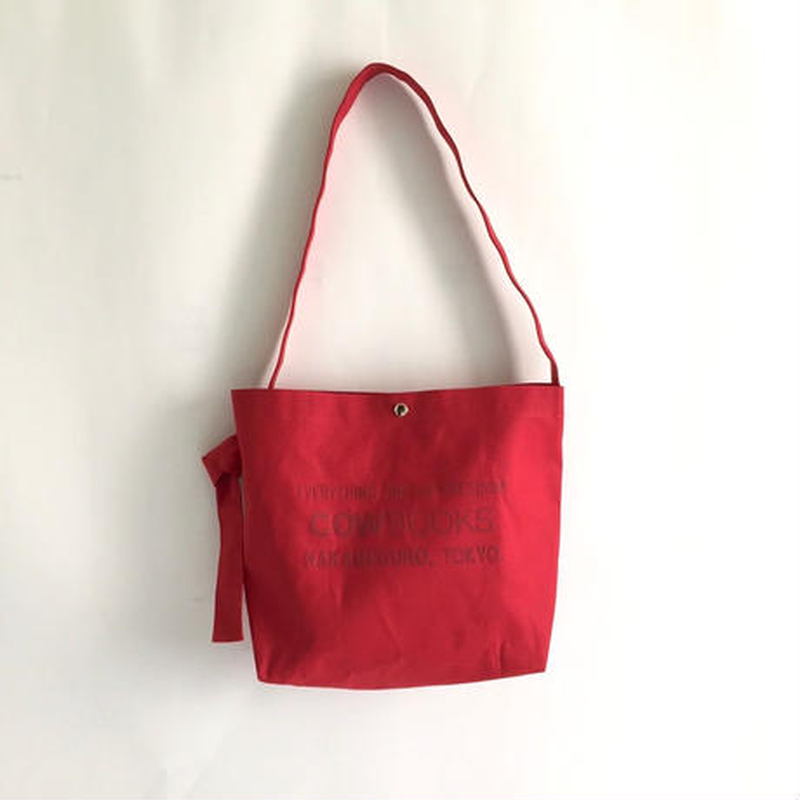 Book Vender Tote ( Shoulder / Red×Red )