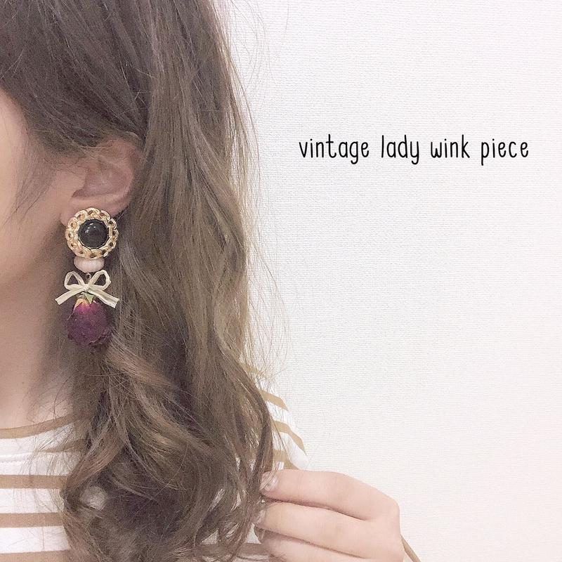 vintage lady wink piece