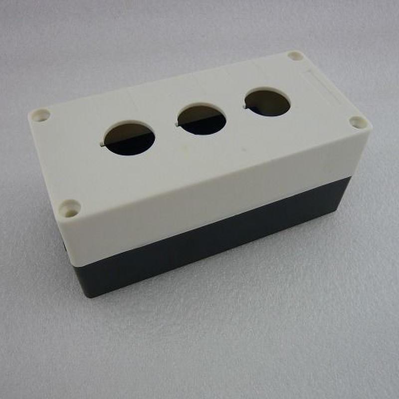 Φ22スイッチ用  3穴 PLASTIC CONTROL BOX ( CASE )