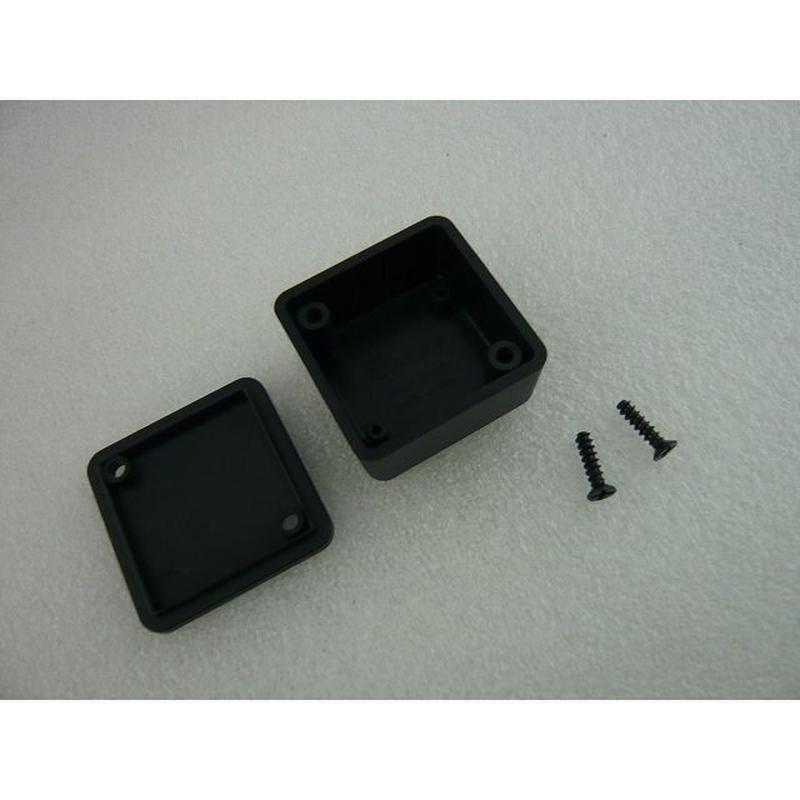 MINI PLASTIC CASE  36×36×20 mm    色:黒