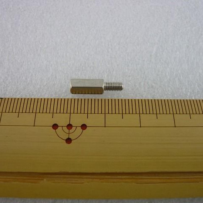 金属六角スペーサー M3×10 +6  オス-メス  10pcs/set