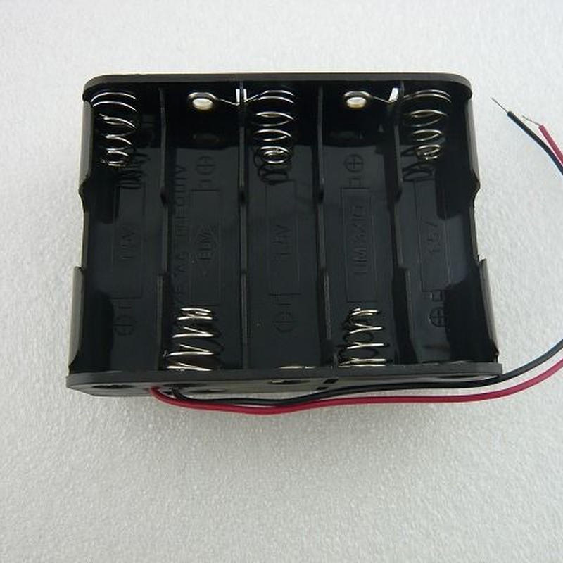 単3-10本用   電池ホルダー  ( Battery Holder AA SIZE-10pcs )