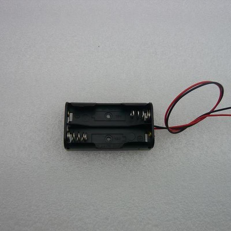 電池ホルダー 単3-2本用  2pcs/set ( Battery Holder AA SIZE)