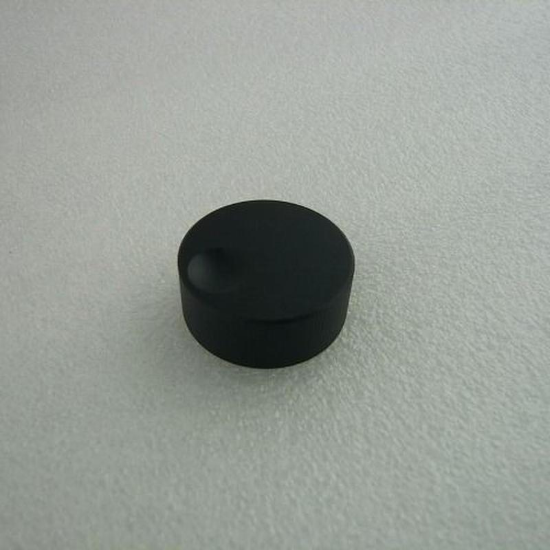Φ32アルミダイヤル ブラック ( Φ32 AL DIAL KNOB BLACK )