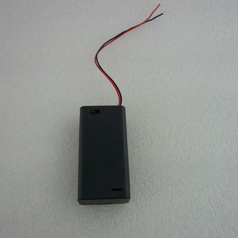 電池ホルダーSW付 単3-2本用 2pcs/set ( AA-Size 2pcs Battery Holder with Switch )