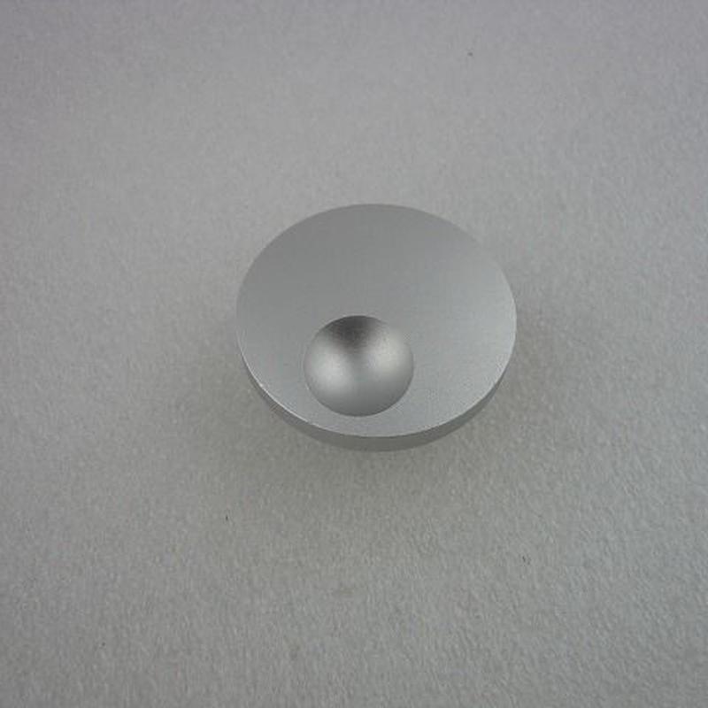 Φ40×17 アルミダイヤル シルバー ( Φ40×17 AL DIAL KNOB SILVER )