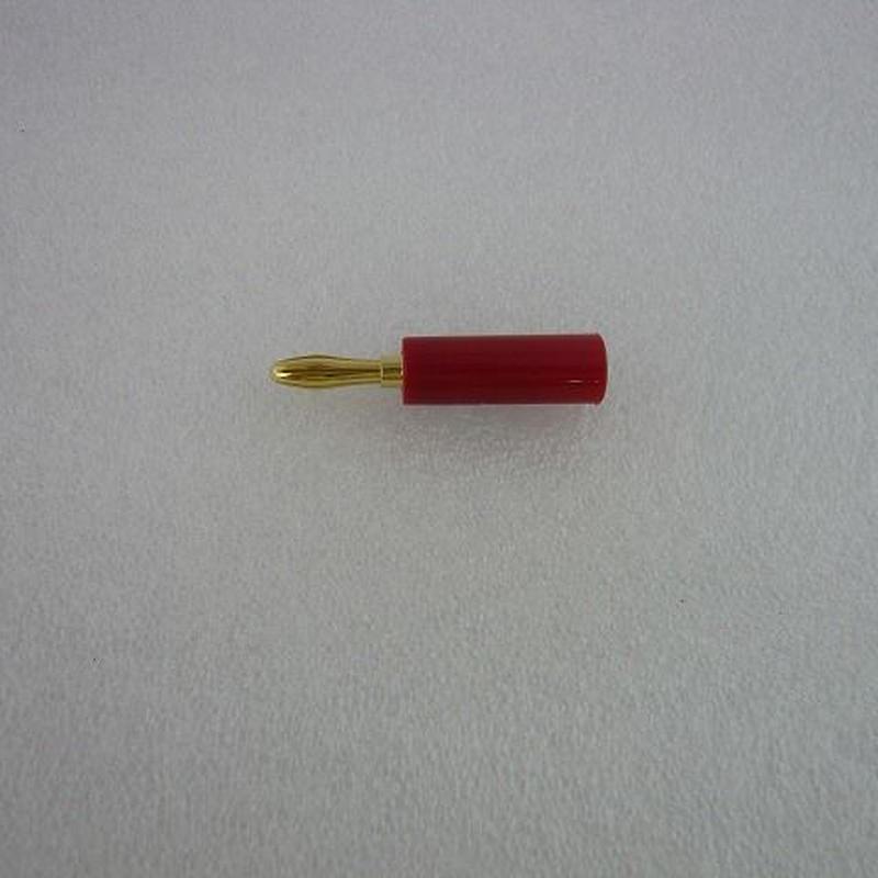 バナナ端子 赤 (Banana Plug Red)