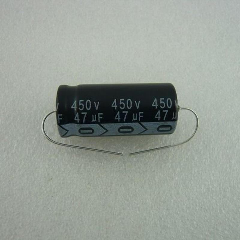 台湾 RICHEY社製 チューブラ電解コンデンサ  47μF / 450V