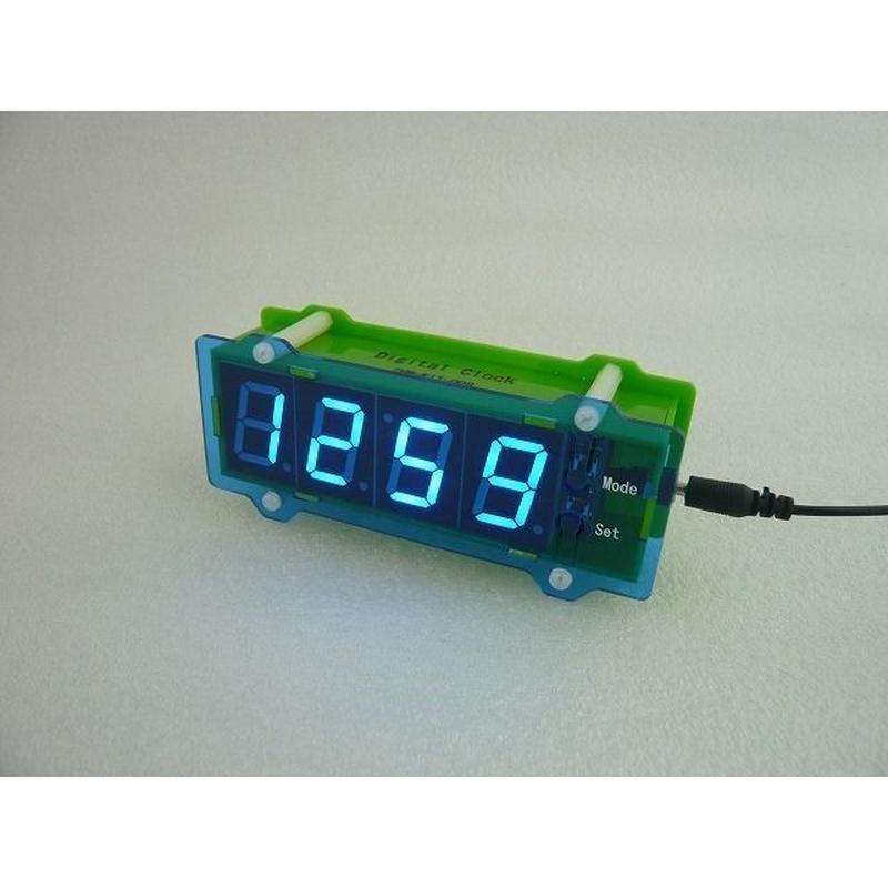 デジタル時計 完成品  ( DIGITAL CLOCK )