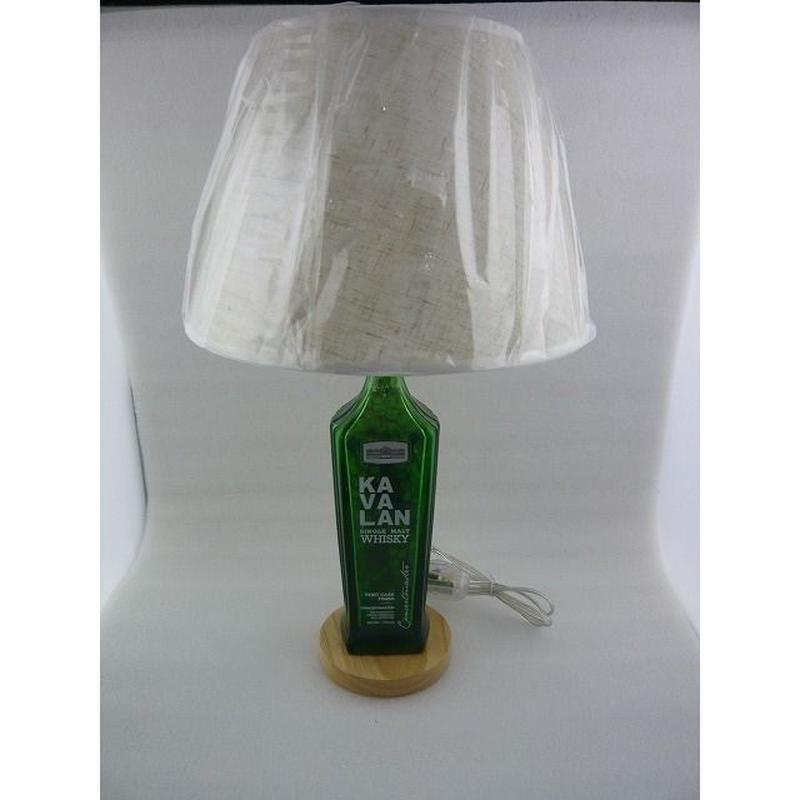 KAVALAN(カバラン) GREEN   ボトルランプスタンド (  KAVALAN GREEN BOTTLE  LAMP  STAND )