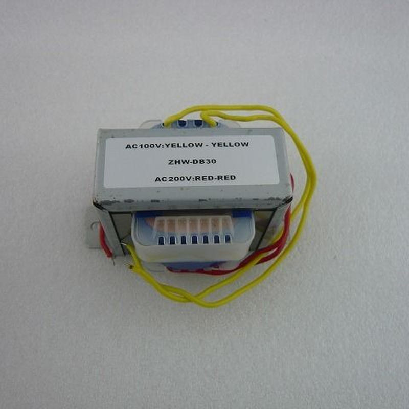 電源トランス ZHW-DB30  ( AC100V-AC200V 30VA )