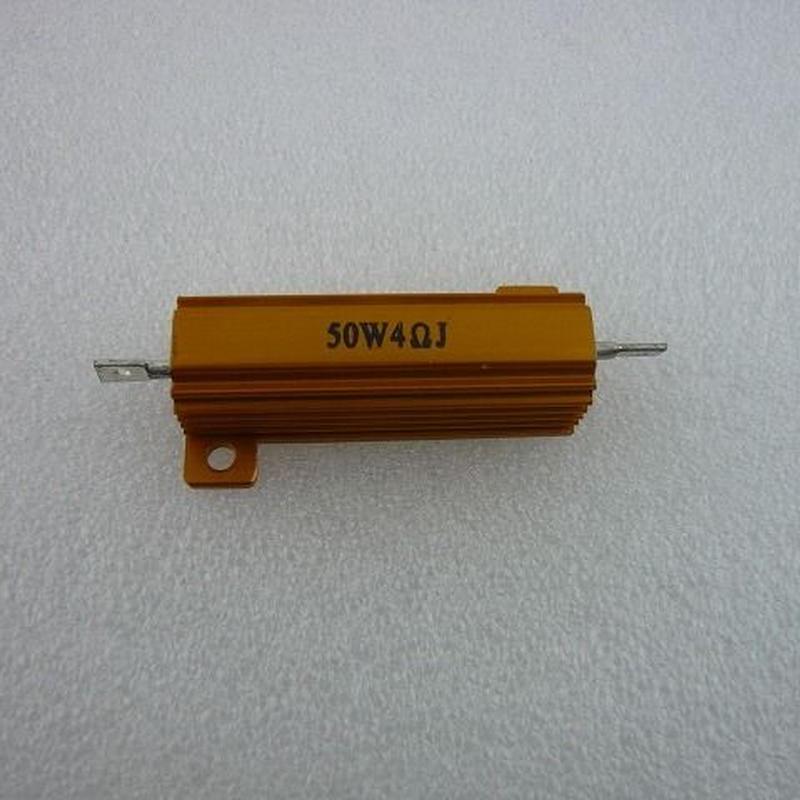 メタルクラウド抵抗 4Ω-50W ( Metal Cloud Resistors  4Ω-50W )