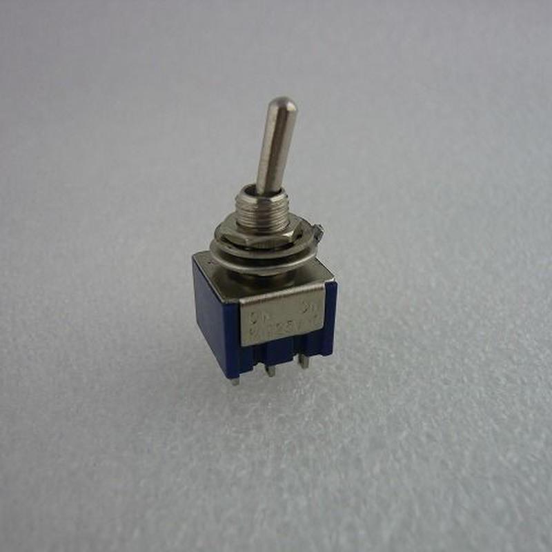 2回路小型トグルスイッチ MTS-202 ( TOGGLE SWITCH MTS-202 )