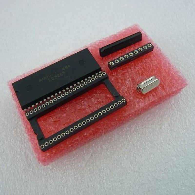 SANYO LC7265 + LB3500+7.2MHz XTAL SET