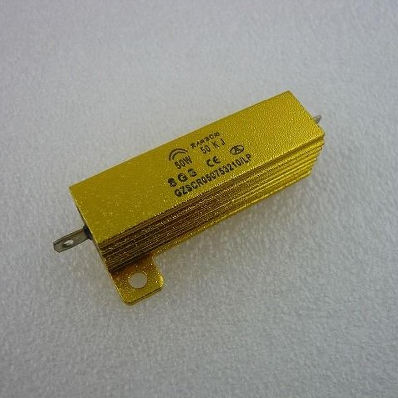 メタルクラウド抵抗 50KΩ-50W ( Metal Cloud Resistors  50KΩ-50W )