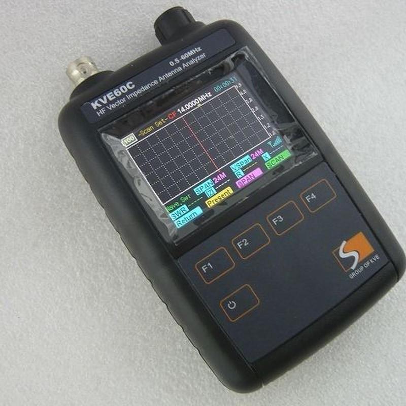 HF~50MHz帯 アンテナアナライザー KVE60C  ( HF~50MHz ANTENNA ANALAYZER   KVE60C )