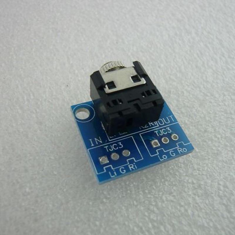 Φ3.5 Stereo Jack変換PCB + Mini Jack Sets