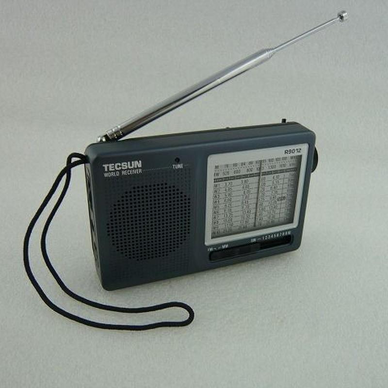 ワイドFM受信可能  TECSUN WORLD BAND RADIO     ZHW-R-9012-TECSUN