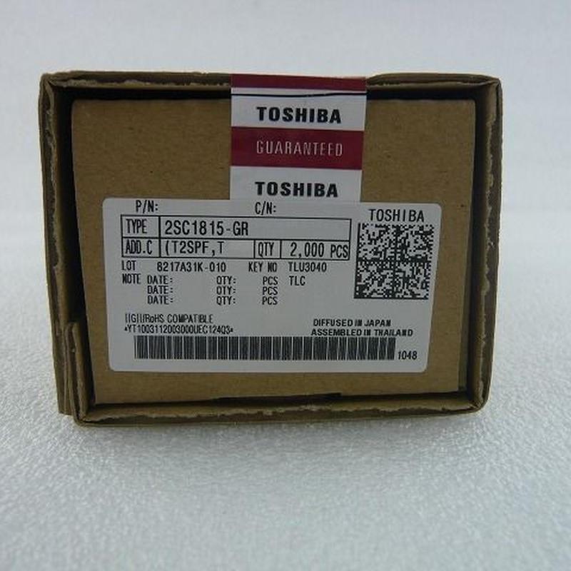 東芝製トランジスタ 2SC1815-GR  2000pcs/箱  (1箱単位販売)5箱限定