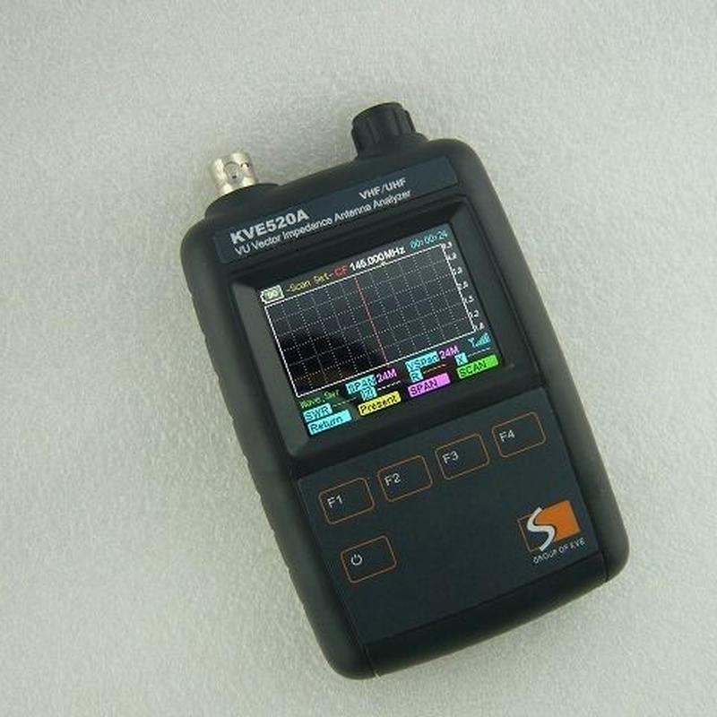 VHF / UHF 帯 アンテナアナライザー KVE520A  ( VHF UHF ANTENNA ANALAYZER   KVE520A )