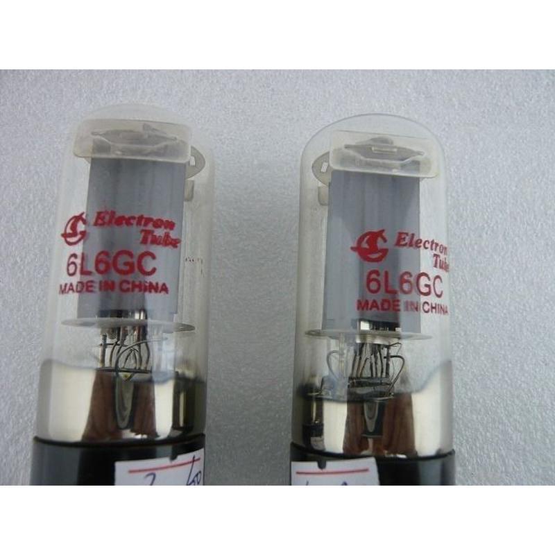 真空管 6L6GC  2本組 ( ELECTRON TUBE 6L6GC PAIR )