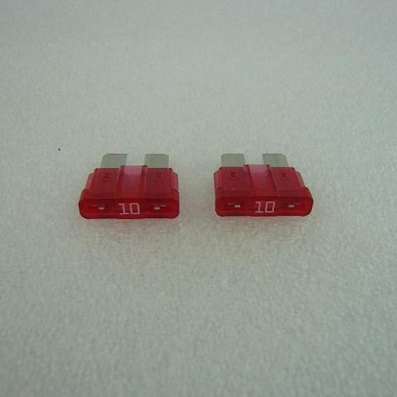 T型FUSE  10A  2pcs/pack