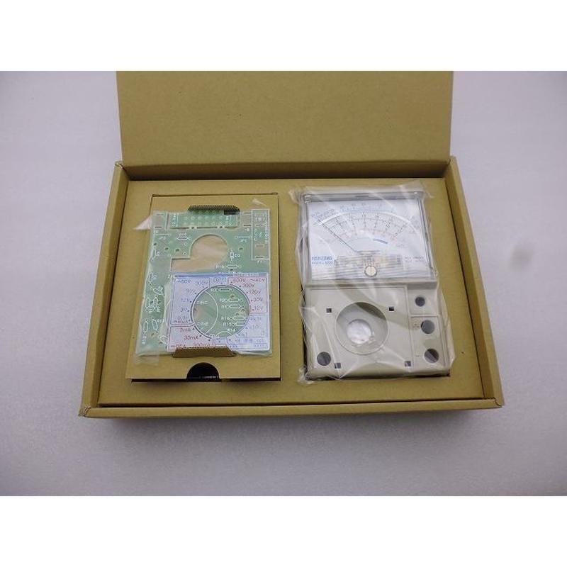 日本語詳細組立手順書付  NISHIZAWA 針式テスターキット (NISHIZAWA Analog Tester KIT)
