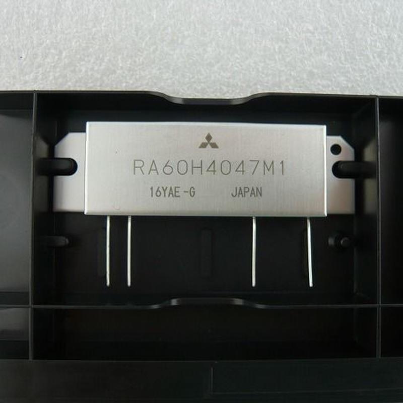 新品 三菱430MHz帯 RF パワーMOS FET モジュール RA60H4047M1