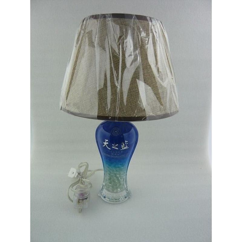 天之藍(白酒) ボトルランプスタンド (   天之藍  BOTTLE  LAMP  STAND )