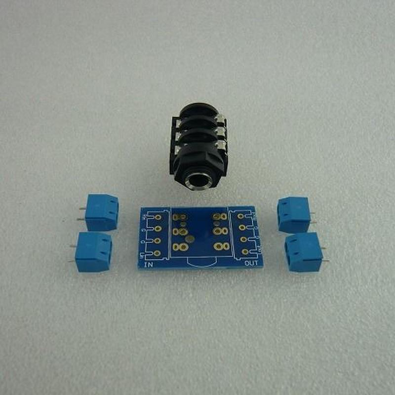 Φ6.35 Stereo変換基板セット (Φ6.35 Stereo exg PCB Set)