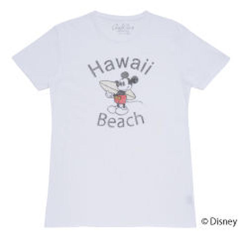 <MICKEY MOUSE> HAWAII TEE(OFFICIAL) No.93