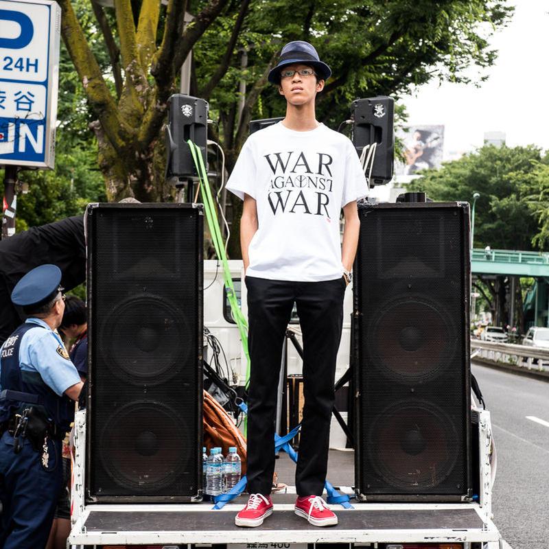 Tee: War Against War (white)