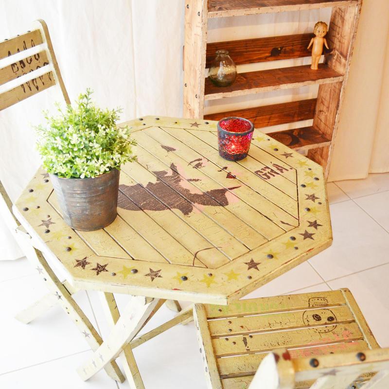 ガーデンテーブル & チェアー