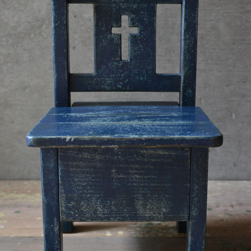 フラワーポットスタンド・チャーチ(navy blue)