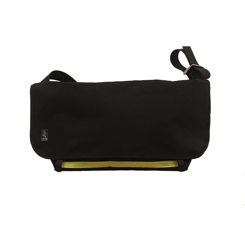 SOLO Large CORDURA  [Black x Orange] Yellow line Limited