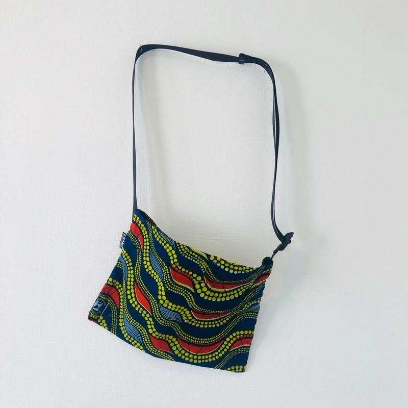 African Print fabric Sacoche