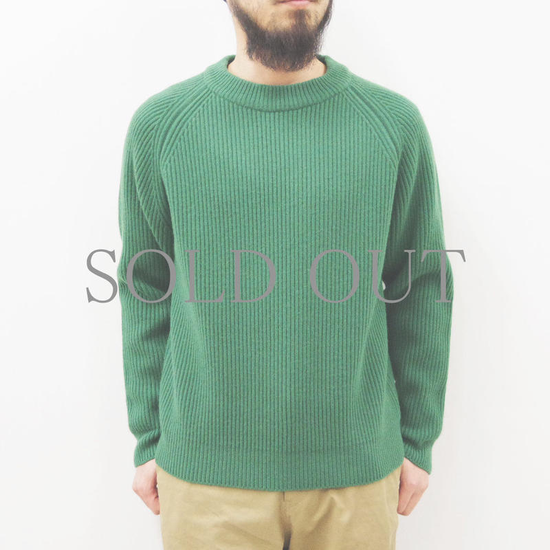 bunt / 5G GRANDFATHER SWEATER / col.グリーン