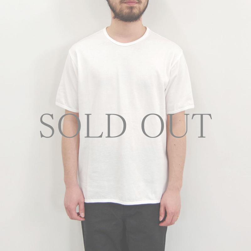 THE HINOKI / オーガニックコットン リンガーTシャツ / col.ホワイト×ホワイト