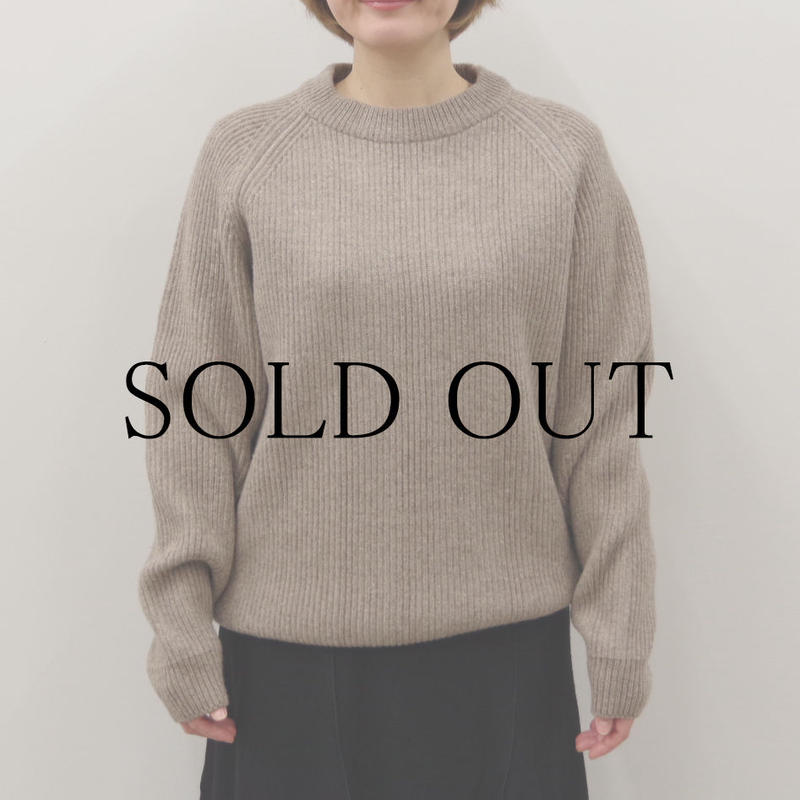 bunt / 5G GRANDFATHER SWEATER / Lady's / col.オートミール / size 2