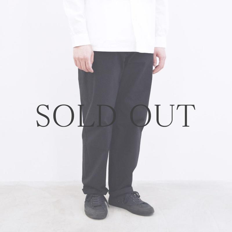 THE HINOKI / コットン馬布イージーパンツ / col.ブラック / size 4