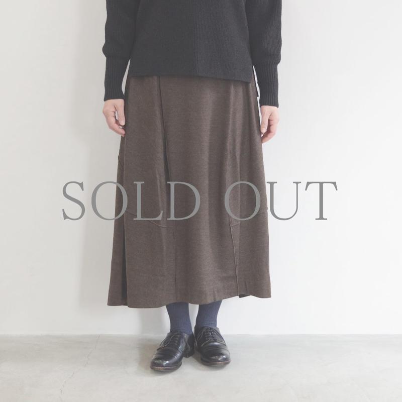 pssst,sir / trom skirt / col.ブラウン